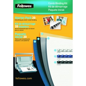 Kit Reliure 20 Dossiers Fellowes