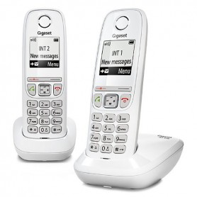 Pack Telephone Sans Fil Dect Gigaset As470 Duo Mai