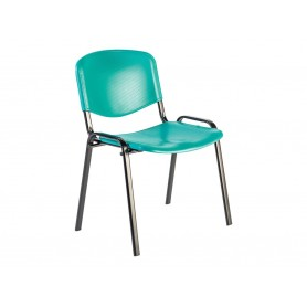 Chaise  VISICOLOR  - turquoise
